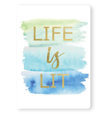 Life is Lit - Notebook - From Me To You - Nikki Chu
