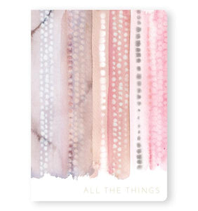 All The Things - Notebook - From Me To You - Nikki Chu