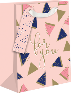 For You Triangles Medium Gift Bag