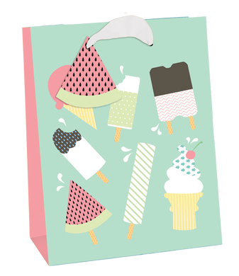 Ice Cream Assortment Medium Gift Bag