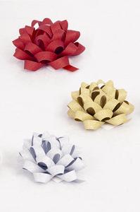 Multiloop Glitter Max Bows Set of 6