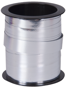 Silver Metal Curling Ribbon Spool