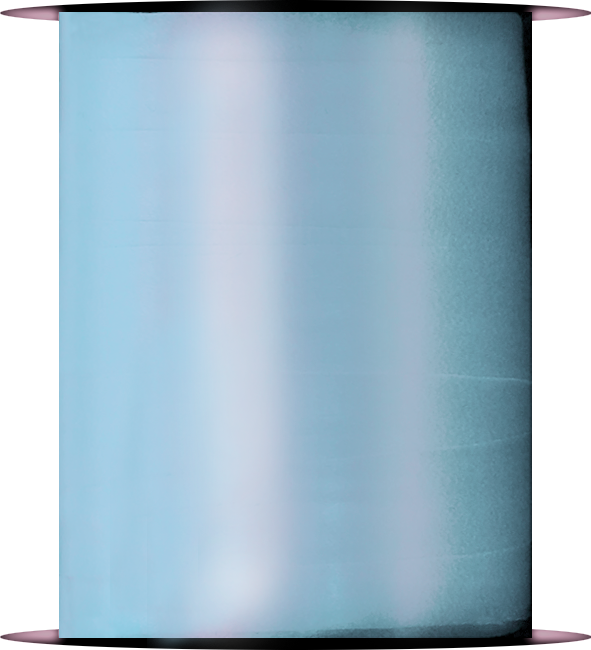 Light Blue Curling Ribbon Spool