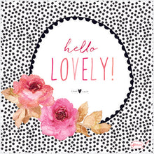 Hello Lovely Sara Miller Smart Cloth - Cardmore