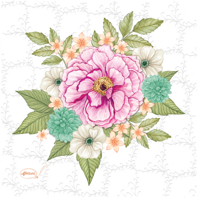 Bouquet Sienna's Garden Smart Cloth