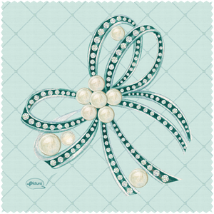 Bow with Pearls Sienna's Garden Smart Cloth