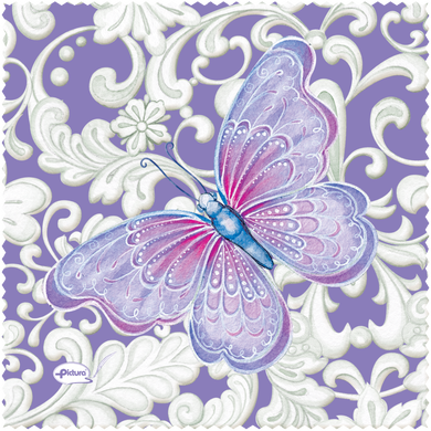 Butterfly Sienna's Garden Smart Cloth