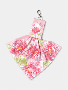 Pink Flowers and Butterflies Sienna's Gard Nicole Tamarinen Smart Cloth