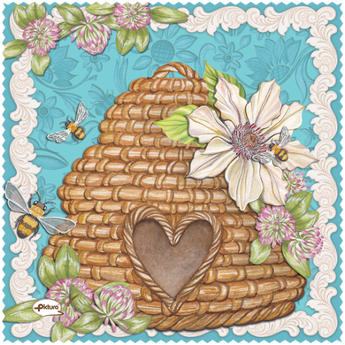 Bee Hive Sienna's Garden Smart Cloth