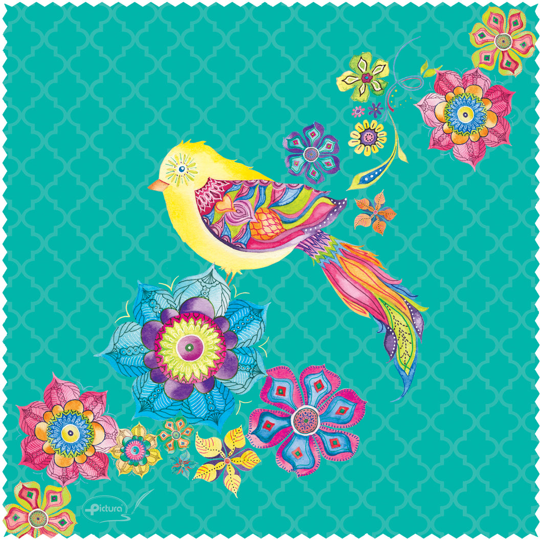 Bird & Flowers Jane Smart Cloth