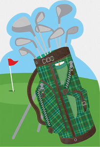 Birthday Card Golf