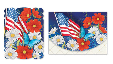 Note Card Portfolio Red White & Bloom Nicole Tamarin
