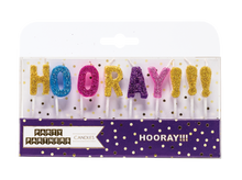 Hooray!!! Letter Candle Set Party Partners
