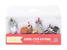 Super Cute Kitten Decal Candles Party Partners