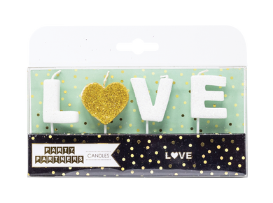 Love Letter Candle Set Party Partners
