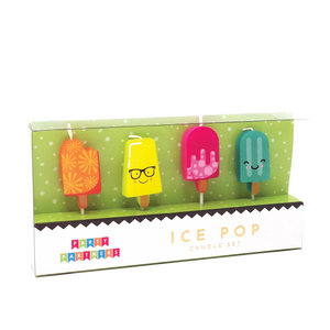 Ice Pop Decal Candles
