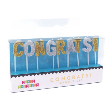 Congrats Candle Set