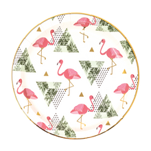 Flamingo Dessert Plates Party Partners