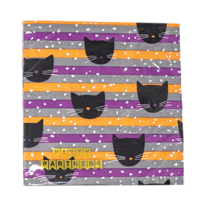 Cats Halloween Cocktail Napkins