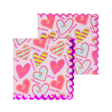 Hearts Cocktail Napkins