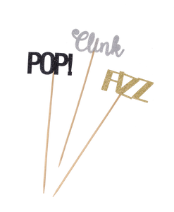 """Pop Fizz Clink"" Party Picks Party Partners"