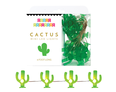 Cactus Mini Led Lights Garland