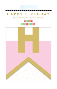 Rainbow Birthday Banner Party Partners