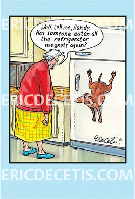 Birthday Card Eric Decetis Refrigerator Magnet 93968 - Cardmore