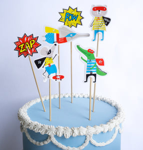 Super Heroes Topper Party Partners
