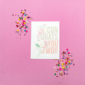Wedding - Here's to Making it Official Card - Gia Graham