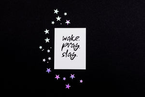 Friendship - Wake Pray Slay Card - Nikki Chu