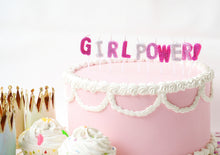 Girl Power Letter Candle Set Party Partners