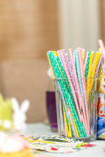 Pastel Polka Dot Paper Straws Party Partners