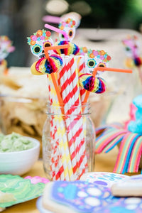 Sugar Skull Deluxe Straws Party Partners
