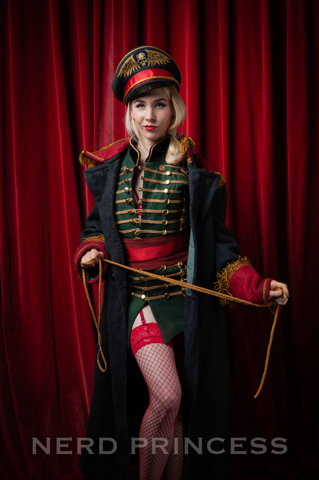 Digital Photo Set 13 - Commissar 2 - the Christmas Striptease!
