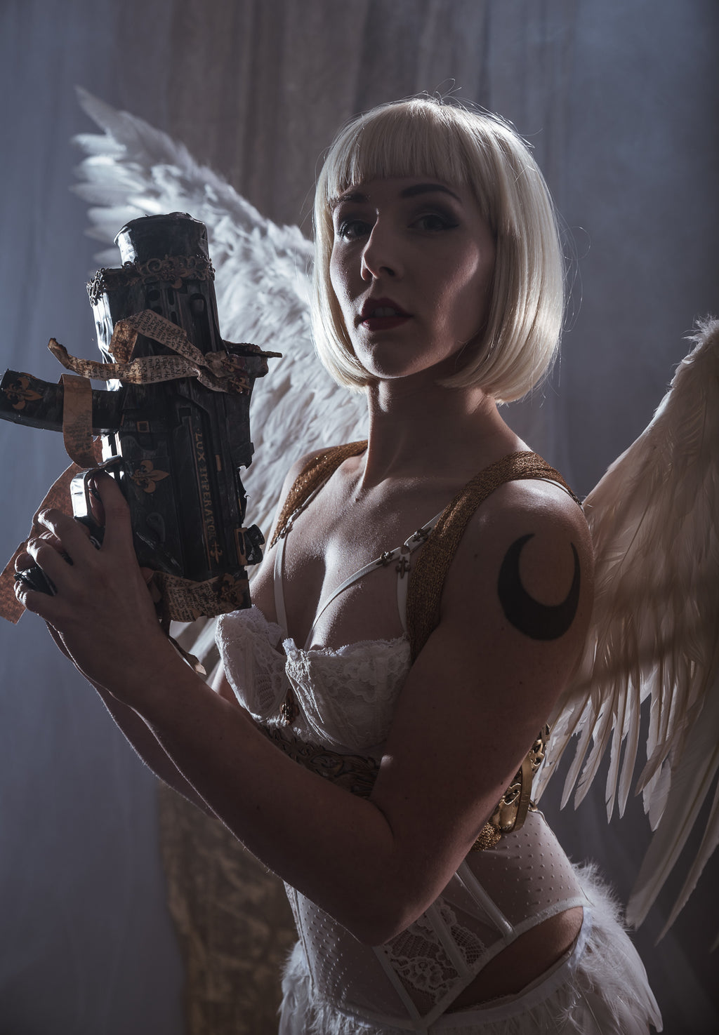 Digital Photo set 02 - Celestine 1 - Light of Faith