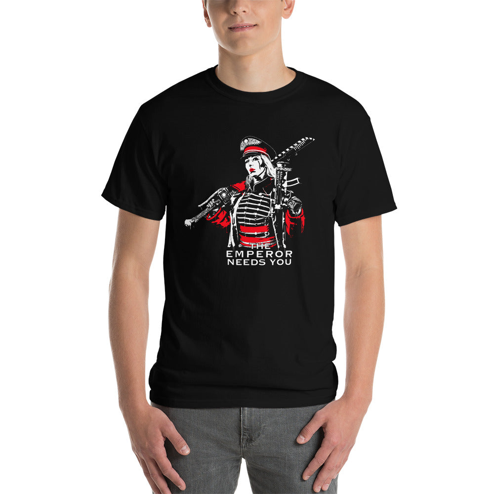THE EMPEROR NEEDS YOU!  mens fit tshirt