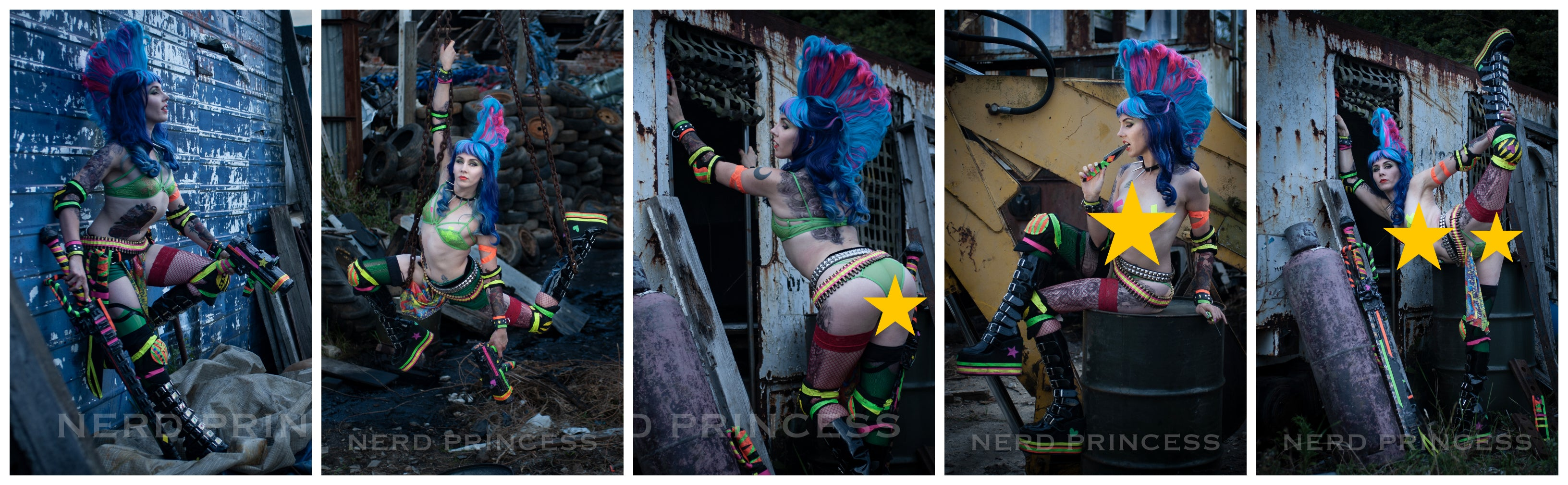 Digital Photo set 09 - Escher 1 - Scrapyard Adventures