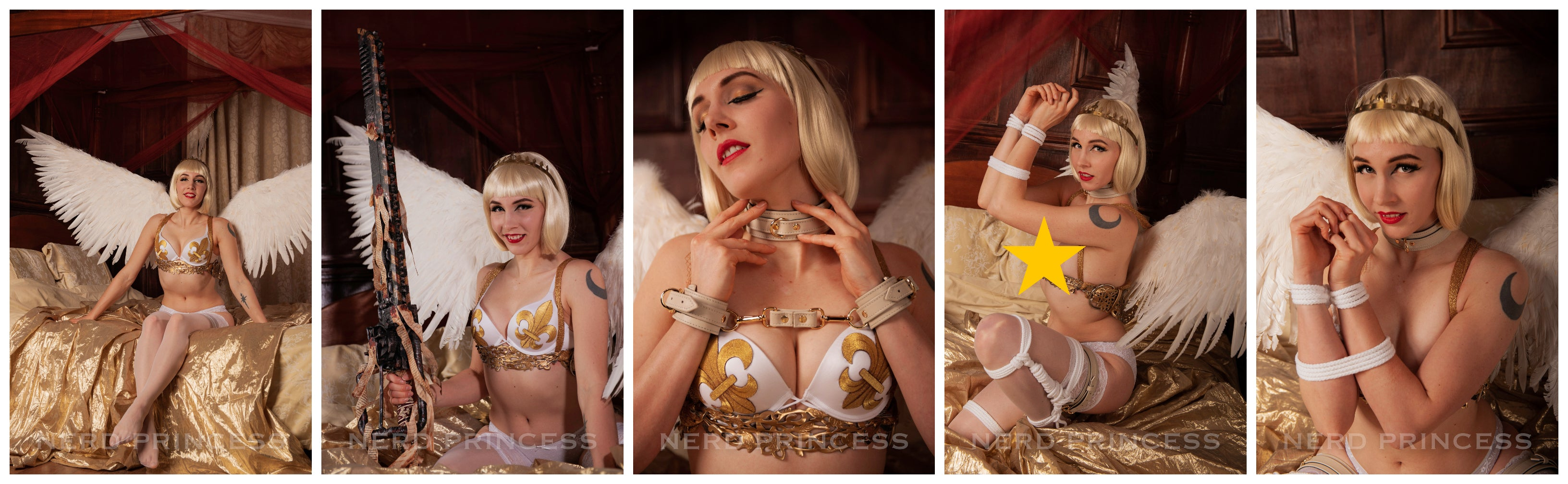 Digital Photo Set 15 - Celestine 2 - Bondage Angel!