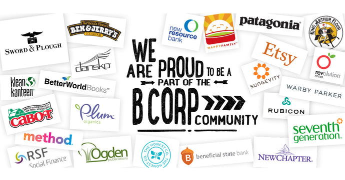Breaking News: Sword & Plough is a Certified B Corp!!!