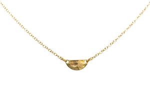 Brass .50 Caliber Seas the Day Necklace