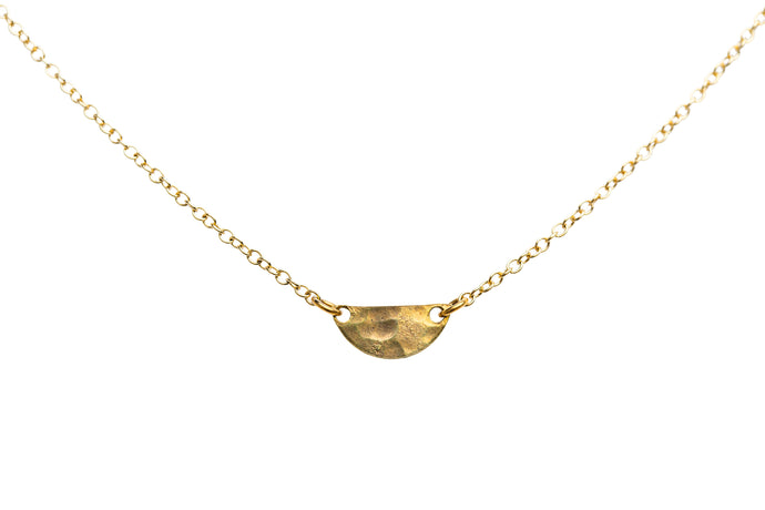 NEW *PRE-ORDER* Brass .50 Caliber Seas the Day Necklace