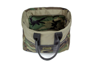 *PRE-ORDER* Camo Signature Zip Top Tote Bag