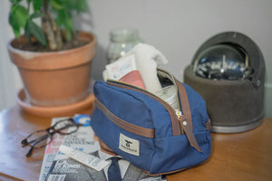 Blue Travel Kit