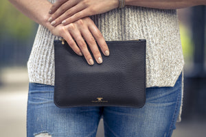 Essential Leather Clutch