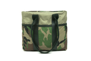 *PRE-ORDER* Camo Mini Zip Top Tote Bag