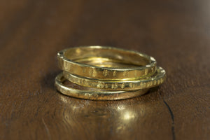 Brass .50 Caliber Stackable Rings