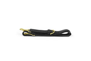 Black Leather Handbag Shoulder Strap