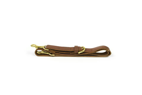 Brown Leather Handbag Shoulder Strap