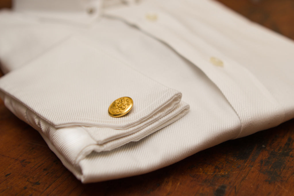 Cufflinks - Brass Cufflinks